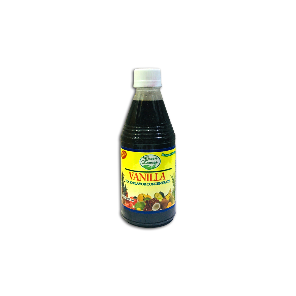 Green Leaves Vanilla Flavor (375mL)