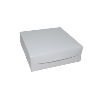 "Generic Top & Bottom Cake Box 9x9x3"" (20pcs) 