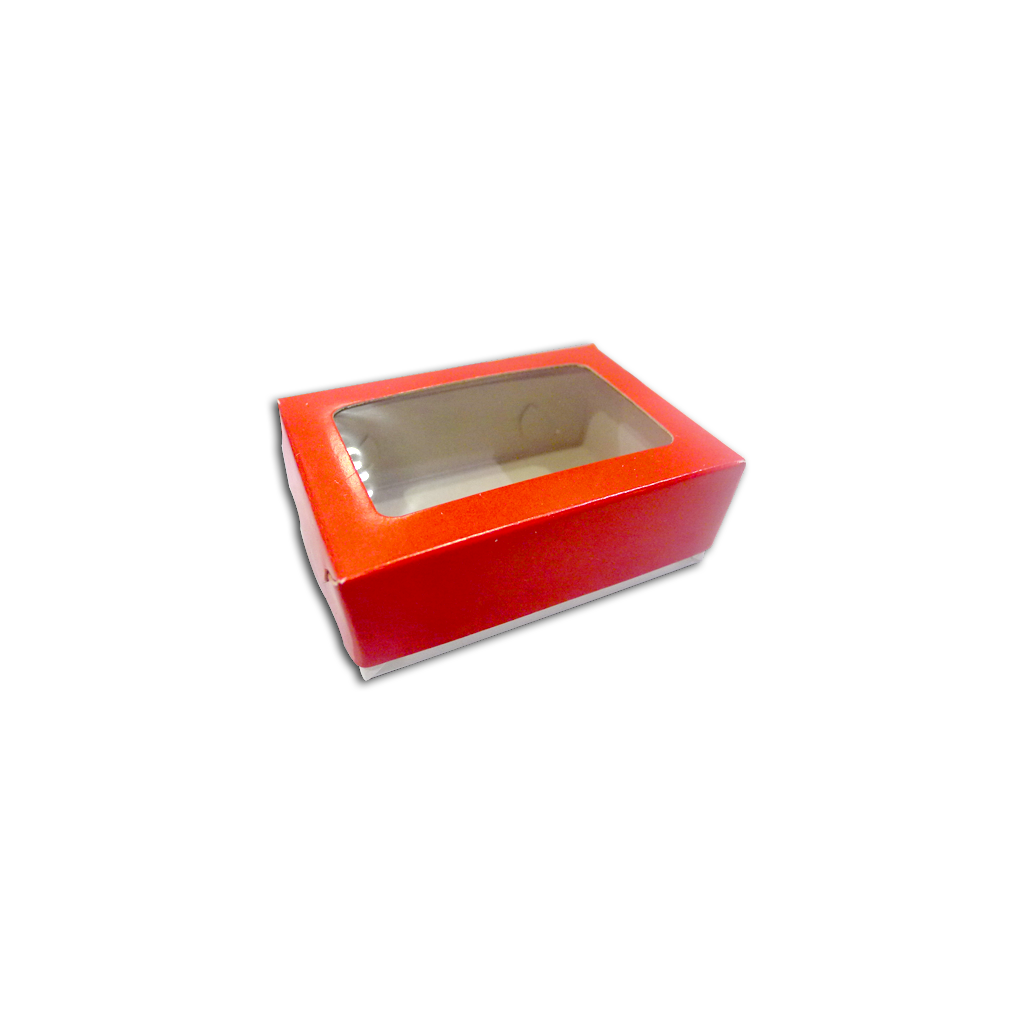 Generic Pastry Box - Tiny Tray (20pcs) | Solid Color