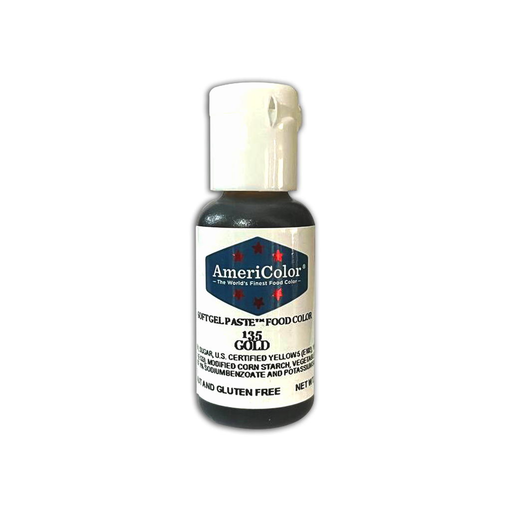 AmeriColor Soft Gel Paste, 135 Gold [21g.]