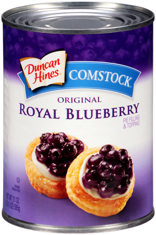Duncan Hines Comstock Royal Blueberry 595g.