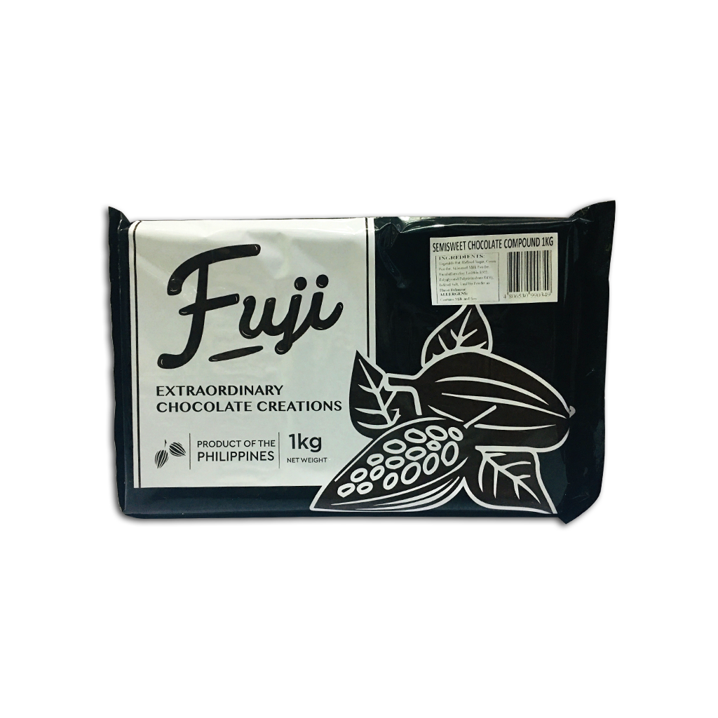 Fuji Semi-Sweet Chocolate Bar [1Kg]