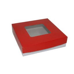 "Generic Pastry Box 8x8x2"" (20pcs) 