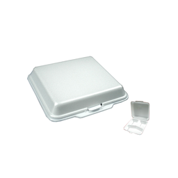 Styro Meal Box - 3 Compartment | 100pcs