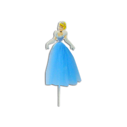 3D Princess Cake Topper