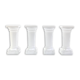[B9918] Grecian Pillars 3"