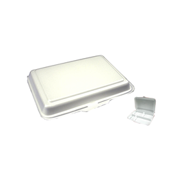 Styro Meal Box - 4 Compartment | 100pcs