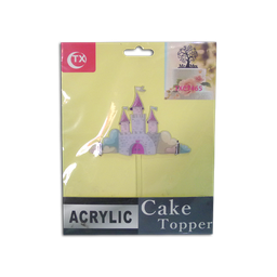 Acrylic Topper (Castle)