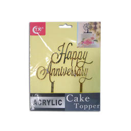 Acrylic Topper (Happy Anniversary)