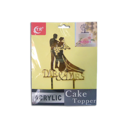 Acrylic Topper (Mr. & Mrs.)