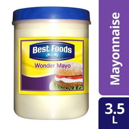 Best Foods Wonder Mayo 3.5L.