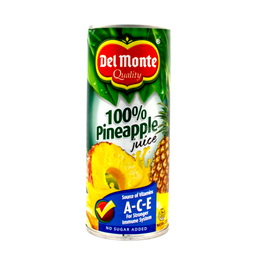 [56269] Del Monte 100% Pineapple Juice w/ ACE 240mL