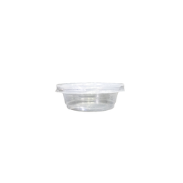 Ice Cream Cup Set, Clear, 1.5oz. | 50pcs.