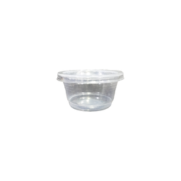 Ice Cream Cup Set, Clear, 2.5oz. | 50pcs.