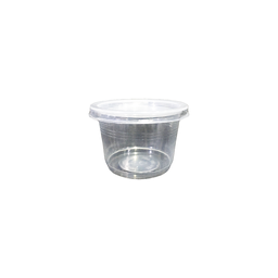 Ice Cream Cup Set, Clear, 3.5oz. | 50pcs.