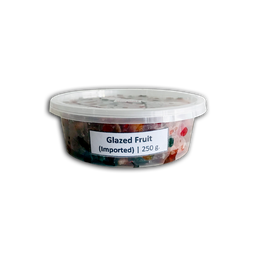 Imported Glazed Fruits | 250g.