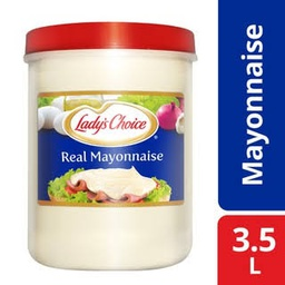 Lady's Choice Real Mayonnaise 3.5L.