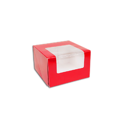 "RM Preformed Cake Box 5.5x5.5x3.5"" (1pc) 