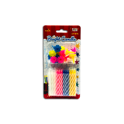 Happy Notes Bright Candle | 24pcs