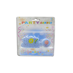 Party Candle - Baby Boy/Girl